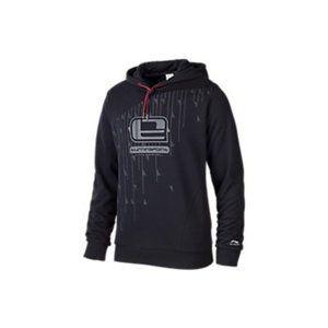 LI-NING Black Turningpoint Sweatshirt Hoodie